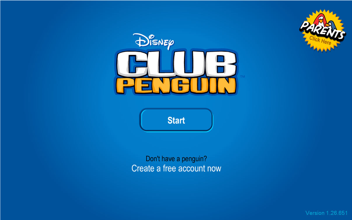 club penguin login