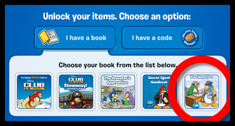 "New Club Penguin ""Star Reporter"" Book Code Unlock!"